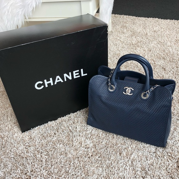 806bac4d11e6 CHANEL Handbags - Chanel Perforated Up in the Air Tote